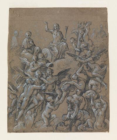 Belisario Corenzio, 'Christ in Glory with Angels', ca. 1630