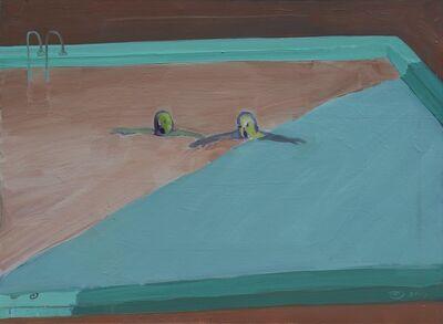 Tang Zhigang 唐志剛, 'Swimming together no.2', 2014