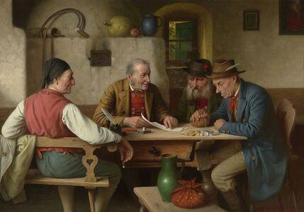 Josef Wagner-Hohenberg, 'The Final Bill', 20th century