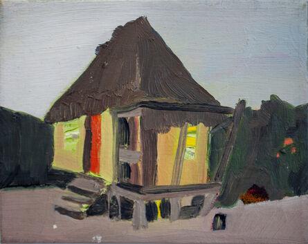 Melora Griffis, 'beach hut /2', 2016