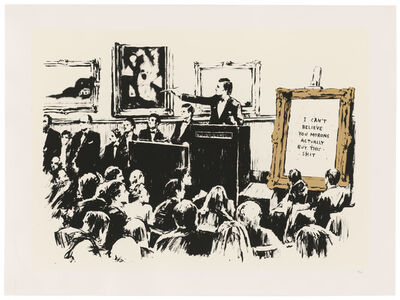 Banksy, 'Morons La Edition', 2006