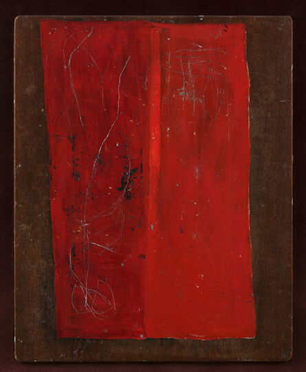 Arie Aroch, 'Untitled (Red Table)', 1962