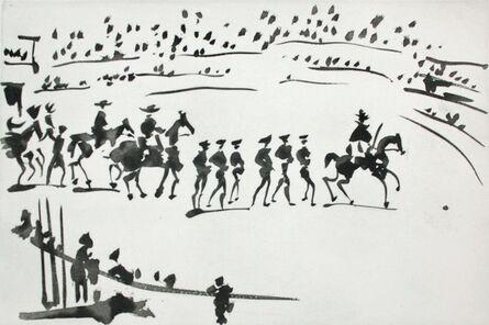 Pablo Picasso, 'Paseo de Cuadrillas (Ride of the Bullfighting Teams)', 1959