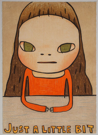 Yoshitomo Nara, 'Just A Little Bit', 2013