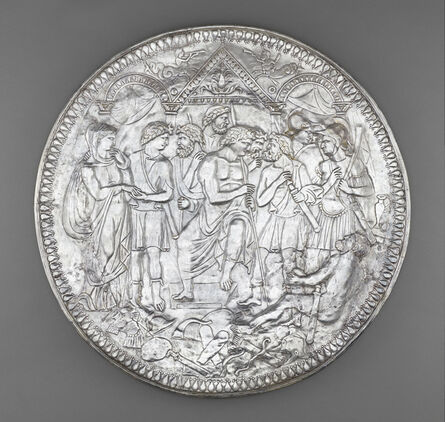 Unknown Artist, 'Plate with the Embassy to Achilles', ca. 375