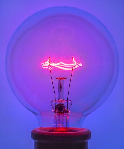 Amanda Means, 'Light Bulb 1 Blue', 2018