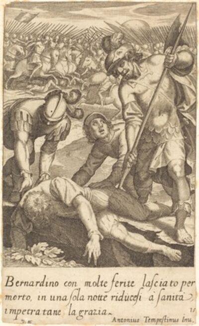 Jacques Callot after Antonio Tempesta, 'Bernardino', 1619