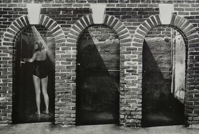 Larry Silver, 'Beach Showers, Westport CT', 1980