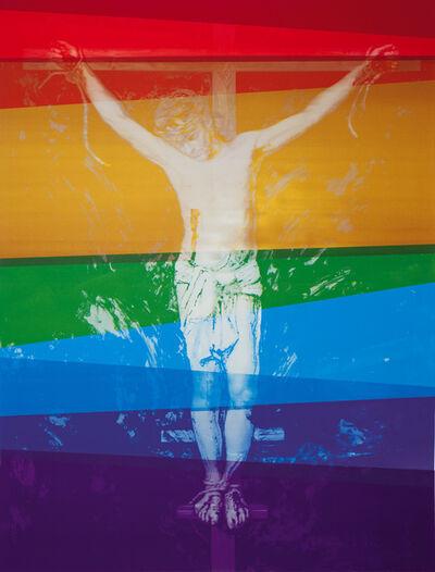 Sverre Bjertnæs, 'Rainbow Crucifixion', 2013