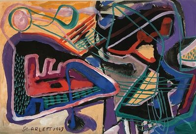 Rolph Scarlett, 'Untitled Abstraction', 1943