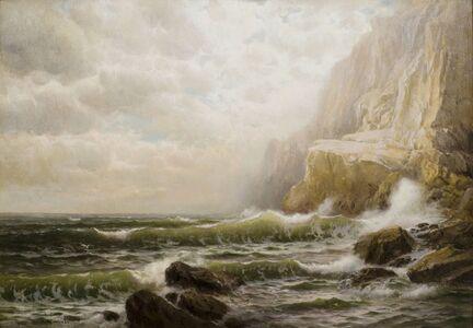 William Trost Richards, 'Cornish Coast', 19th -20th Century