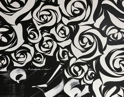Usugrow, 'Rose Wall', 2020