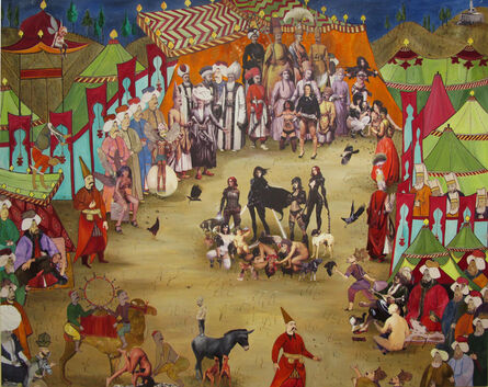 Gazi Sansoy, 'Lunatics of Harem', 2015