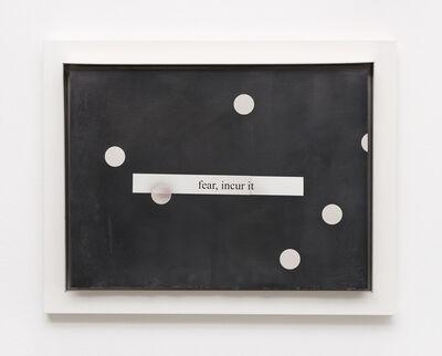 Jesse Stecklow, 'Fire Curtain', 2017