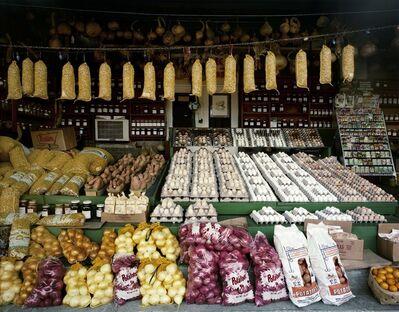 Jim Dow, 'Blackie's Vegetable Stand, Atlanta Farmer's Market, 1-75, Hapeville, Georgia', 1979