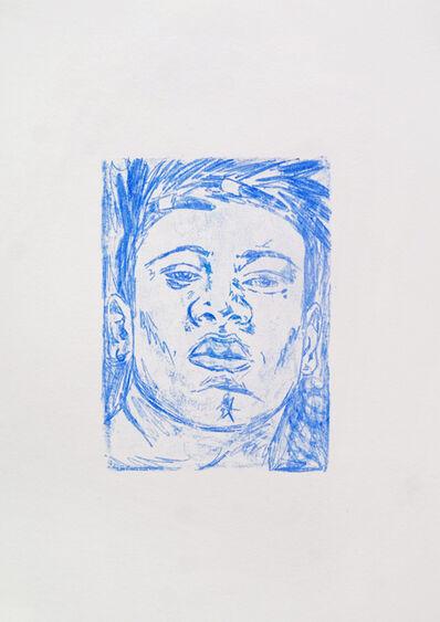 Ramonn Vieitez, 'Untitled (blue)', 2020