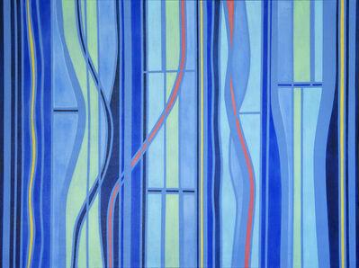 Jennifer Woolcock- Schwartz, 'Blue + Three II', 2020