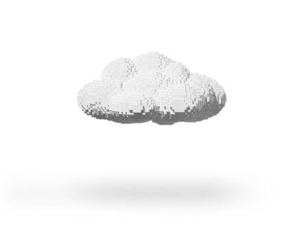 Nathan Sawaya, 'Small Cloud', 2012