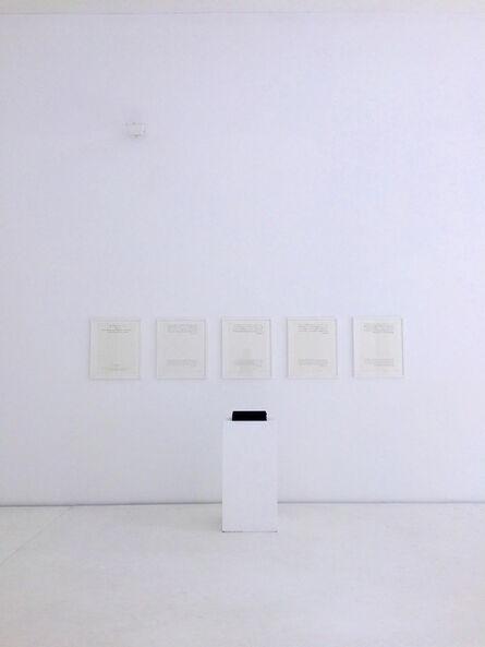 Yutaka Matsuzawa, 'Expedient 9', 1990