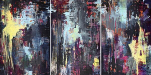 Sonja Kalb, 'Triptychon - Polarlicht', 2017