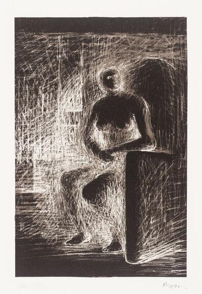 Henry Moore, 'Seated Figure IV - Reverse Lighting', 1974