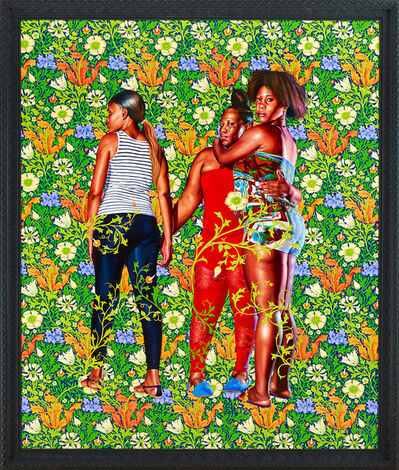 Kehinde Wiley, 'Naomi and Her Daughters', 2013