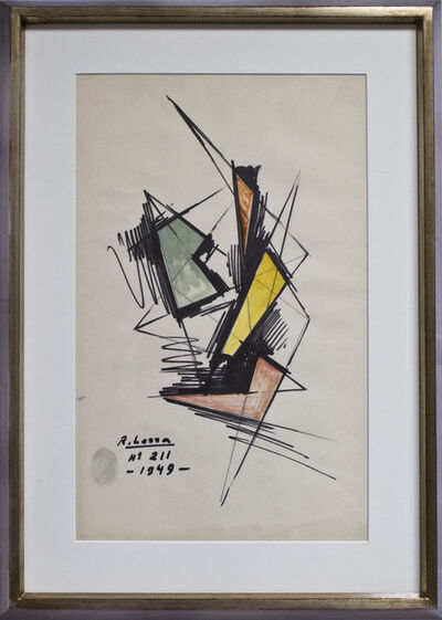 Raúl Lozza, 'N°211', 1949