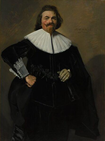 Frans Hals, 'Portrait of Tieleman Roosterman', 1634