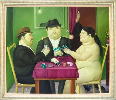 Fernando Botero, 'Card Players', 1991