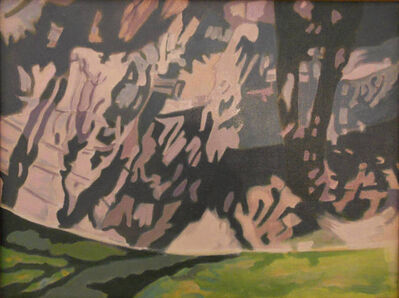 Ralph Wickiser, 'Covered Green', 1991