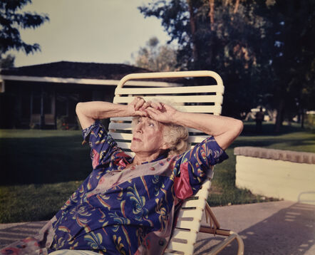 Larry Sultan, 'Mom on Chaise Longue', 1987