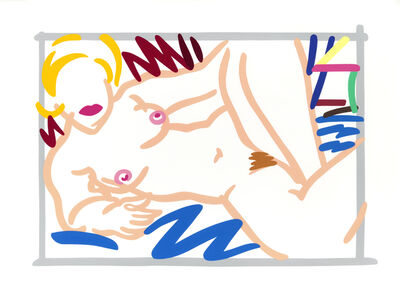 Tom Wesselmann, 'Judy on a Blue Blanket', 2000