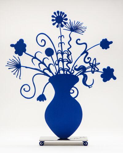 Kenny Scharf, 'Flores Blue', 2021