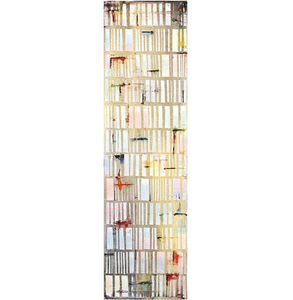 Petra Rös-Nickel, 'Happy White Stripes ', 2019