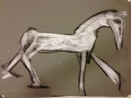 Joan Jonas, 'White Horse Walking 5', 1997