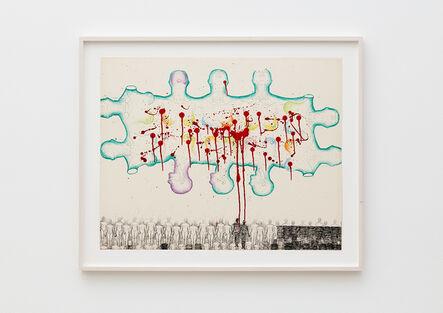 Kiki Kogelnik, 'Robot-Cloud', 1966