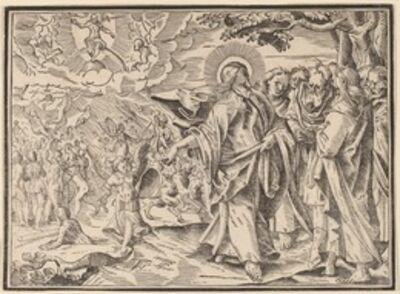 Christoph Murer, 'Christ Tells His Disciples of the Last Judgment', published 1630