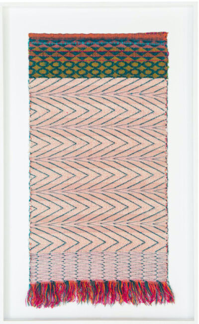 Liz Collins (American), 'Frenetic Meander', 1990