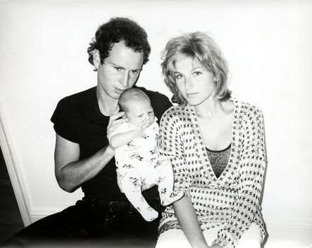 Andy Warhol, 'Andy Warhol, Photograph of John McEnroe, Tatum O'Neal and Baby Kevin, 1986', 1986