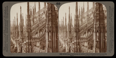 Bert Underwood, 'The Cathedral of Milan', 1900