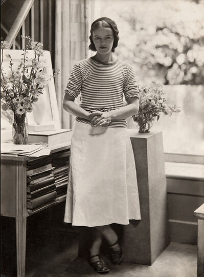Barbara Hepworth, 'Hepworth in the Mall Studio, London', 1933