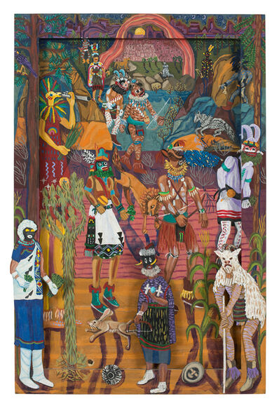 Maria Alquilar, 'Dance Hall of the Dead', 2000
