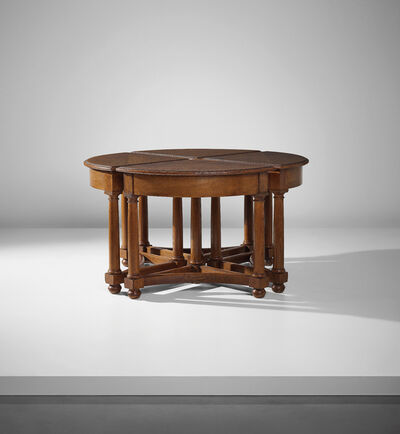 Sir Edwin Lutyens, 'Set of four modular quadrant tables', 1901-1905