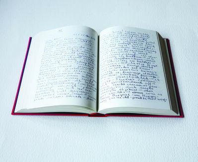 Hanne Darboven, 'Briefe aus New York 1966 – 68 an zu Hause, Stuttgart, Cantz Verlag', 1997