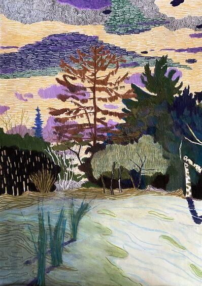 Per Adolfsen, 'The Red Pine and the Broken Birch', 2021