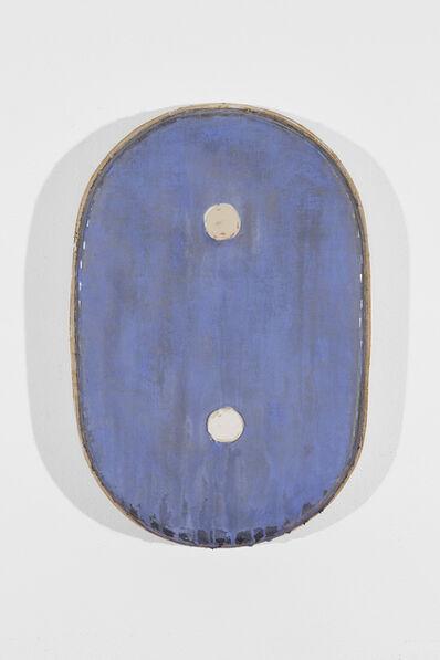 Otis Jones, 'Blue With Two Circles', 2012