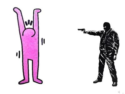 Lewis Bannister, 'Haring a laugh', 2014