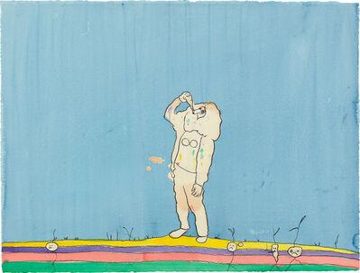 Nigel Cooke (b.1973), 'Drinker', 2007