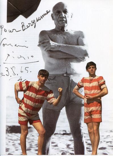 Hank Schmidt in der Beek, 'Collage Nr. 123 (Beatles/Picasso)', 2010