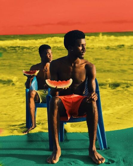 Derrick Ofosu Boateng, 'Sit right, Eat right ', 2019
